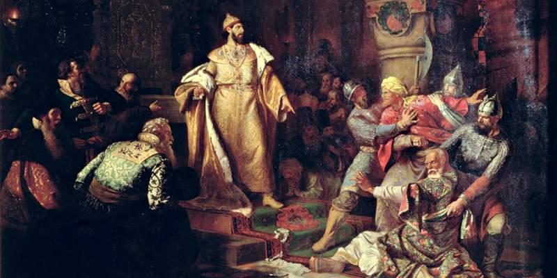 Первый государь всея Руси Иван III.