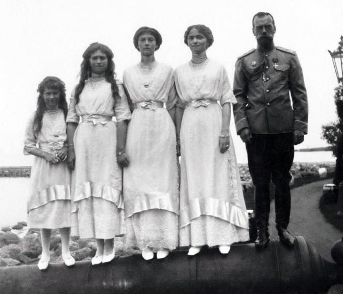 Николай II и его дочери